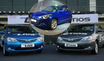 हुंडई ने लॉन्च की इलीट आई20 ऑटोमेटिक, टोयोटा ने भी पेश किए इटियॉस और लीवा के फेसलिफ्ट वर्जन- India TV Paisa