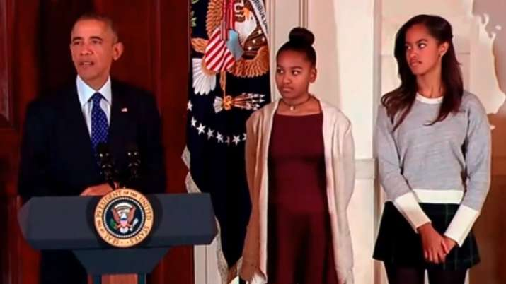 Obama Daughters- India TV