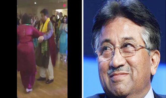 Pervez-Musharraf-Dancing- India TV