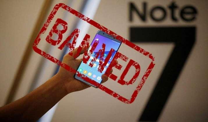 It's Dangerous: ऑस्ट्रेलिया की विमानन कंपनियों ने भी सैमसंग ग्लैक्सी नोट 7 पर लगाया प्रतिबंध- India TV Paisa