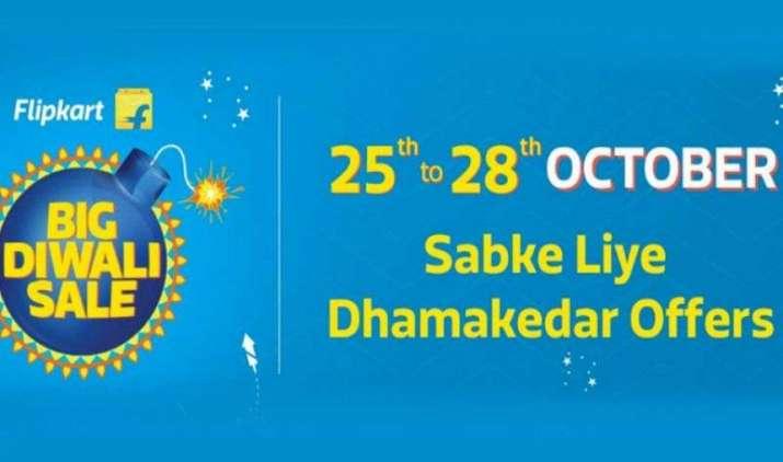 Flipkart की बिग Diwali Sale शुरु, स्मार्टफोन्स पर मिल रहा है 20000 रुपए तक का बड़ा डिस्काउंट- IndiaTV Paisa