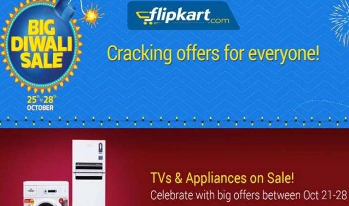 25-28 अक्टूबर तक Flipkart पर चलेगी 'Big Diwali Sale', स्मार्टफोन सहित अन्य प्रोडक्ट्स पर मिलेंगे ऑफर्स- India TV Paisa