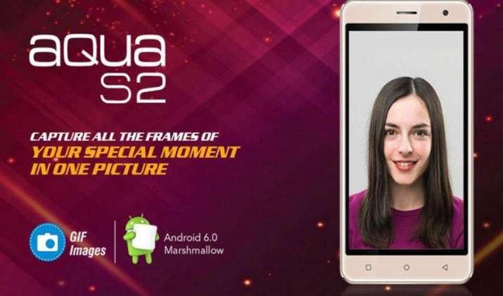 Intex ने लॉन्च किया फिंगरप्रिंट सेंसर के साथ बजट स्मार्टफोन Aqua S2, कीमत 4490 रुपए- India TV Paisa