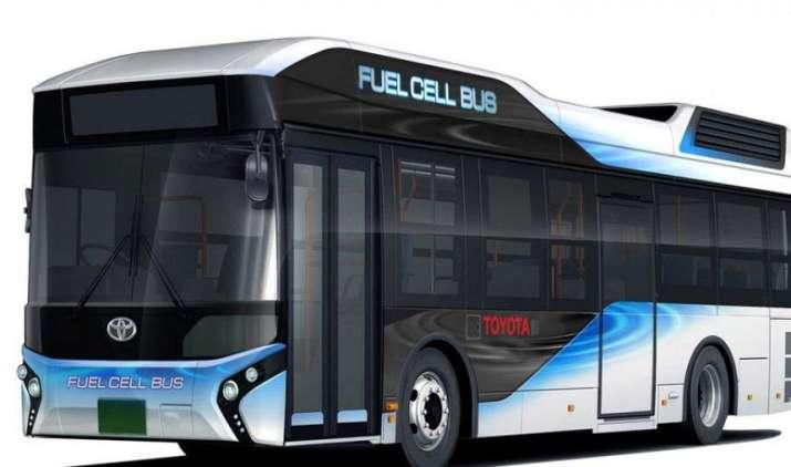 अगले साल Toyota लॉन्च करेगी हाइड्रोजन से चलने वाली Bus, जरूरत पड़ने पर यह बन जाएगा जेनरेटर- IndiaTV Paisa
