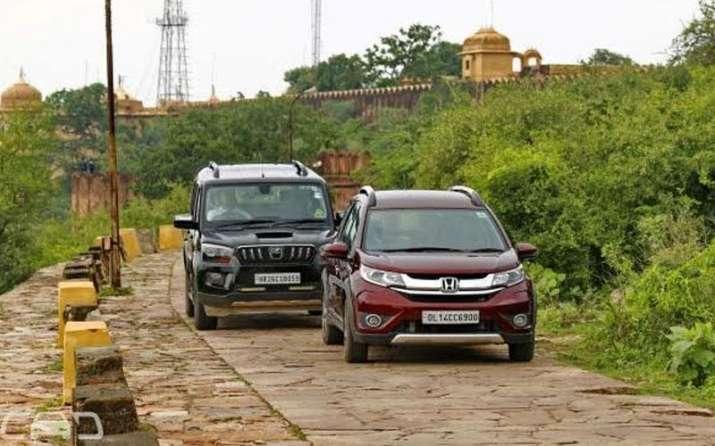 Honda BR-V vs Mahindra Scorpio : दमदार और शानदार, जानिए आपके लिए कौन है बेहतर- India TV Paisa