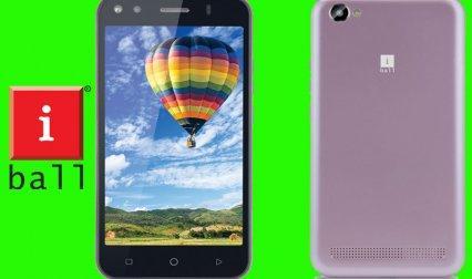 iball ने लॉन्च किया Volte तकनीक से लैस स्मार्टफोन एंडी विंक 4G, कीमत 5,999 रुपए- IndiaTV Paisa