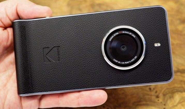 कैमरा बनाने वाली कंपनी Kodak ने लॉन्च किया 21 मेगापिक्सल वाला स्मार्टफोन Ektra, जानिए खासियतें- India TV Paisa