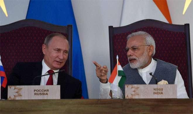 Modi-Putin- India TV