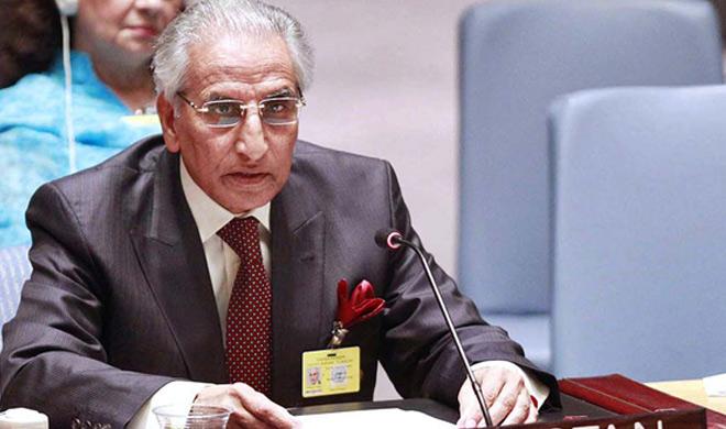 tariq fatemi says indian using water resource as weapon...- Khabar IndiaTV