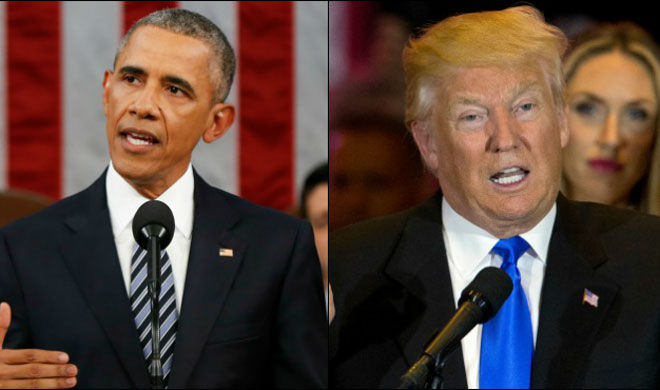 Barack Obama and Donald Trump | AP File Photo- Khabar IndiaTV