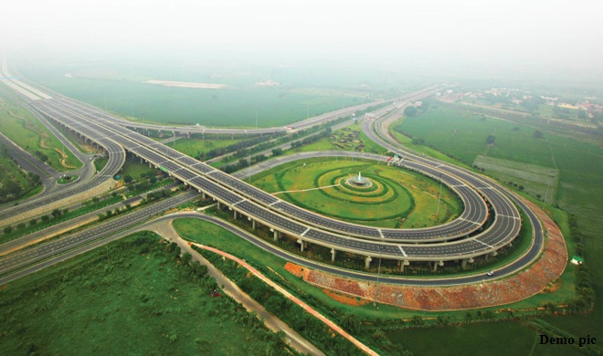 agra lucknow express way