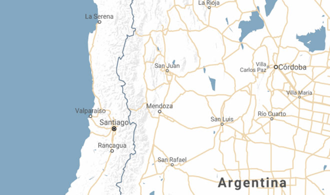 6.4 magnitude earthquake in chile and argentina- Khabar IndiaTV