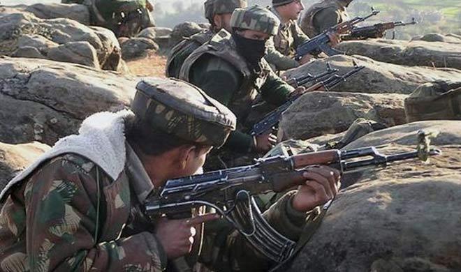 pakistan did millitary exercise near indian border- Khabar IndiaTV