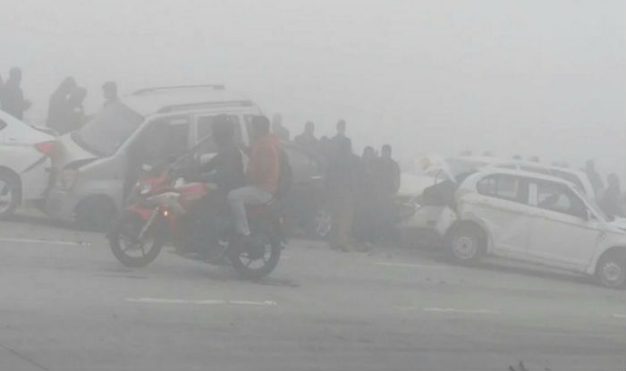 fog yamuna expressway- Khabar IndiaTV