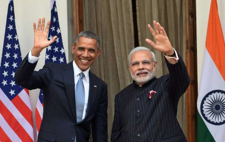 Obama Modi- Khabar IndiaTV