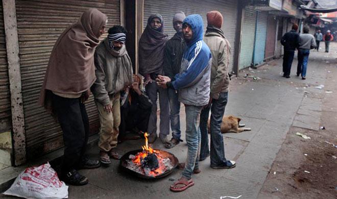 delhi records coldest day and 5 dead in shimla- Khabar IndiaTV