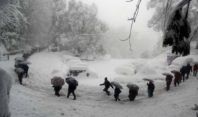 Image result for शिमला समेत अन्य इलाकों में हुई बर्फबारी