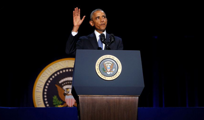 obama said in his farewell speech cautious about external...- Khabar IndiaTV