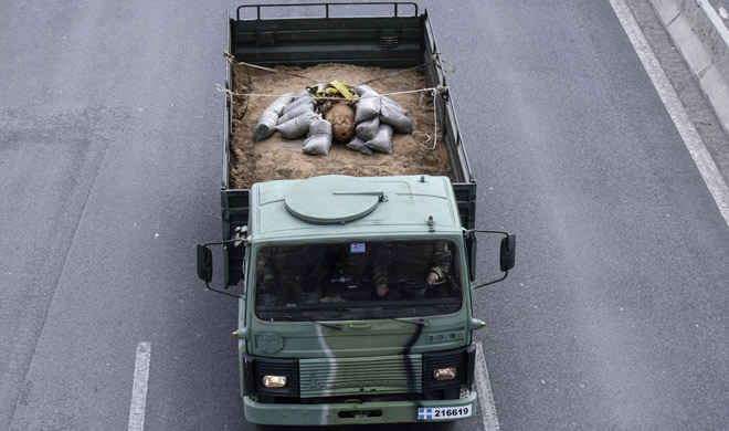 Greece World War II bomb defused | AP Photo- India TV
