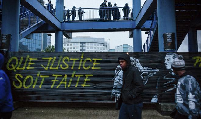 Image result for पेरिस-इतने लोगों को किया गया गिरफ्तार