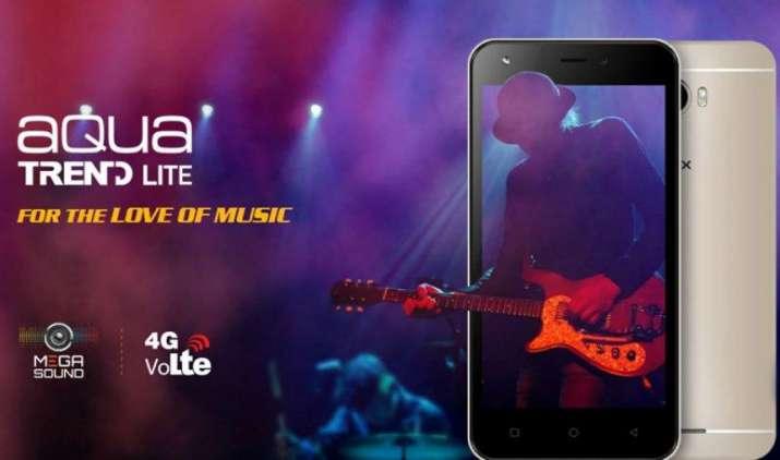 इंटेक्स ने भारतीय बाजार में उतारा सस्ता 4जी फोन एक्वा ट्रेंड लाइट, कीमत 5690 रुपए- IndiaTV Paisa