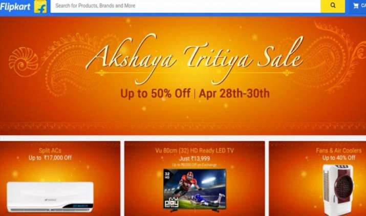 अक्षय तृतीया पर Flipkart पर शुरू हुई इलेक्ट्रॉनिक्स सेल, मिल रहा है 50 फीसदी तक डिस्काउंट- India TV Paisa