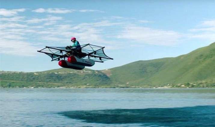 किटी हॉक ने बनाई उड़ने वाली कार फ्लायर, Google के को-फाउंडर लैरी पेज की है ये स्टार्टअप कंपनी- India TV Paisa