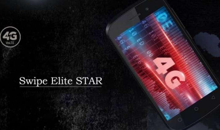 4G VoLTE से लैस Swipe Elite Star का 16GB वैरिएंट हुआ लॉन्च, कीमत मात्र 3,999 रुपए- India TV Paisa
