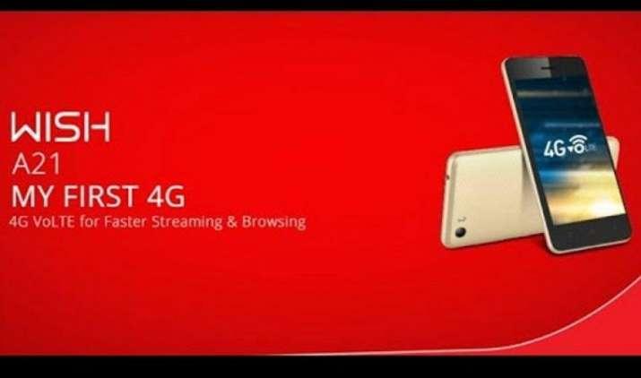 आईटेल मोबाइल ने 5,390 रुपये में लॉन्च किया Wish A21 स्मार्टफोन, VoLTE फीचर से है लैस- India TV Paisa