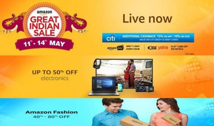 Great Indian Sale: Amazon पर शुरू हुई बड़े डिस्काउंट वाली महासेल, ऐसे मिलेंगे सबसे बेस्ट ऑफर- India TV Paisa