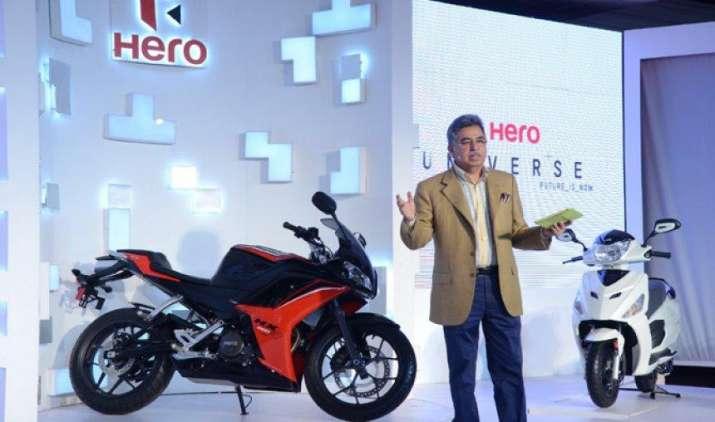 हीरो मोटो कॉर्प का शुद्ध लाभ चौथी तिमाही में 14 प्रतिशत घटा, कुल 16.22 लाख दोपहिया वाहनों की बिक्री हुई- IndiaTV Paisa