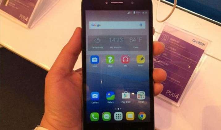 अल्काटेल ने भारत में लॉन्च किया पिक्सी 4 (6) स्मार्टफोन, कीमत 9,100 रुपए- IndiaTV Paisa
