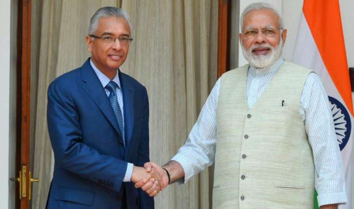 मॉरीशस को 50 करोड़ डॉलर की ऋण सहायता उपलब्ध कराएगा भारत, दोनों देशों के बीच हुए 4 समझौते- IndiaTV Paisa
