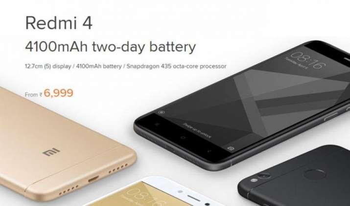 Xiaomi की एक और रिकॉर्डतोड़ फ्लैश सेल, 8 मिनट में बिक गए 2.5 लाख Redmi 4- IndiaTV Paisa