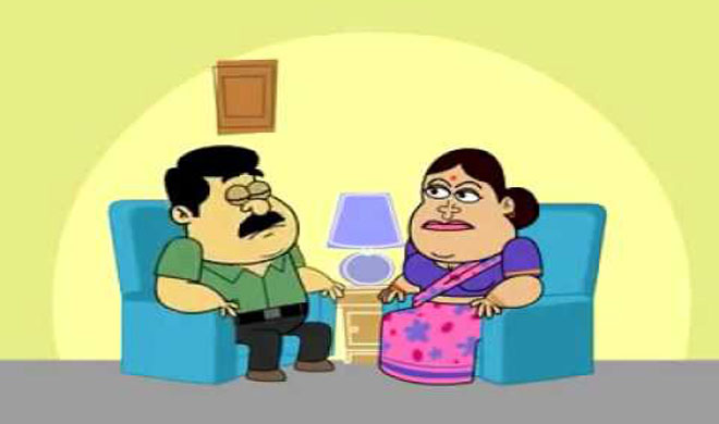 husbnad wife funny jokes- Khabar IndiaTV
