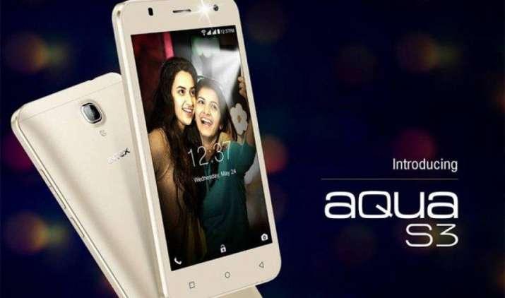 Intex ने लॉन्च किया Aqua S3, फास्ट चार्जिंग सपोर्ट वाले इस स्मार्टफोन की कीमत है 5,777 रुपए- IndiaTV Paisa