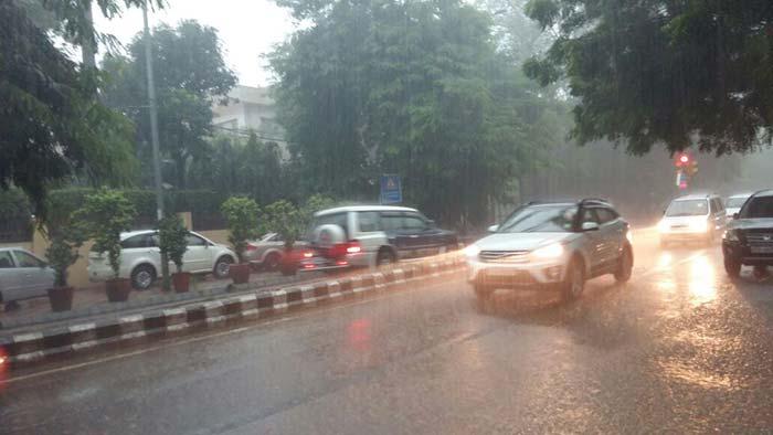 Delhi Rains- India TV