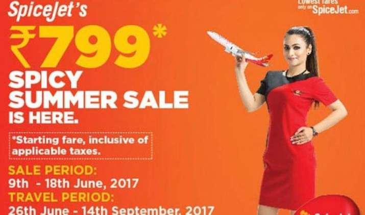 Spicy Summer Sale: स्पाइसजेट की समर सेल शुरू, सिर्फ 799 रुपए में कीजिए हवाई सफर- IndiaTV Paisa