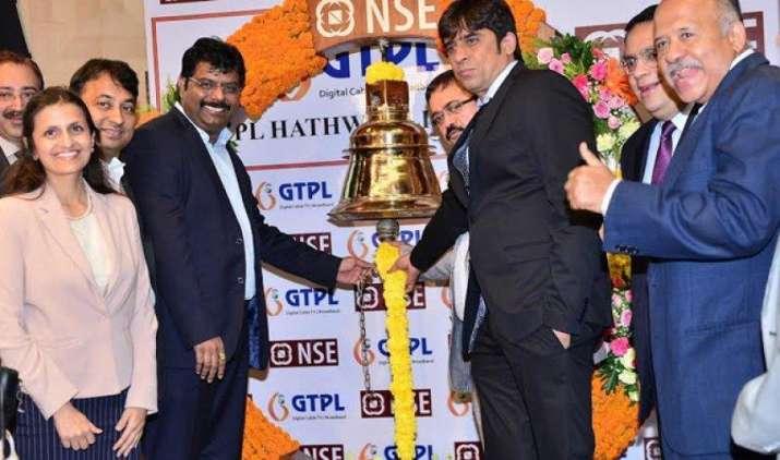 जीटीपीएल हैथवे की शेयर बाजार में फ्लैट लिस्टिंग, 170 रुपए प्रति शेयर के इश्यू प्राइस पर ही हुआ सूचीबद्ध- IndiaTV Paisa