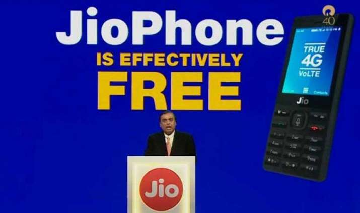 Reliance Jio: मुकेश अंबानी ने लॉन्च किया दुनिया का सबसे सस्ता जियो फोन, ग्राहकों को फ्री में होगा उपलब्ध- IndiaTV Paisa