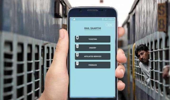 रेल मंत्री सुरेश प्रभु ने लॉन्च की Rail SAARTHI एप, रेल और हवाई टिकट बुकिंग के साथ खाना भी ऑर्डर कर सकेंगे यात्री- IndiaTV Paisa