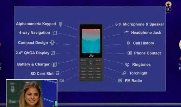 जियो फोन की बुकिंग शुरू होने में बचे हैं 12 दिन, जानिए कैसे करें अपने लिए फोन पक्का- IndiaTV Paisa