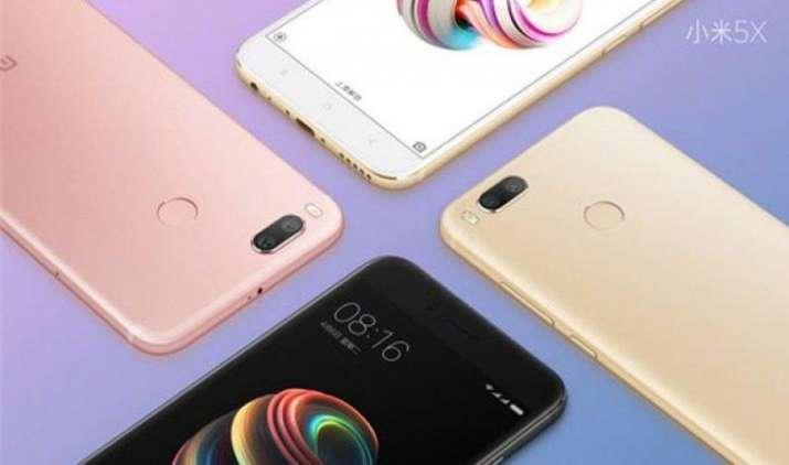 Xiaomi ने लॉन्च किया Mi 5X स्मार्टफोन, डुअल रियर कैमरे और स्नैपड्रैगन 625 प्रोसेसर से है लैस- IndiaTV Paisa