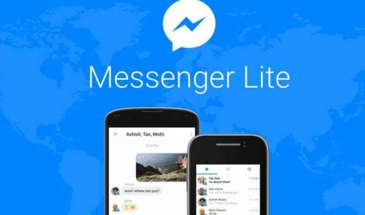 Facebook ने भारत में लॉन्च किया मैसेंजर एप का लाइट वर्जन, कम मैमोरी वाले फोन पर भी कर सकेंगे चैटिंग- India TV Paisa
