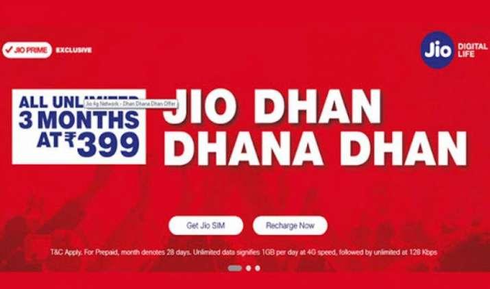 New JDDD Offer: Jio ने पेश किया धन धना धन का नया ऑफर, 399 रुपए में मिलेगी अगले 3 महीने तक सभी सर्विसेस- India TV Paisa