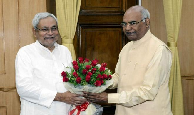 Nitish Kovind- India TV