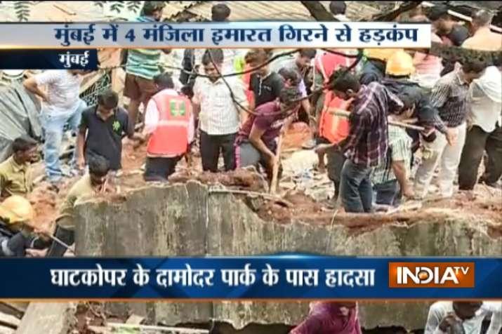 Mumbai_Building_Collapse- India TV