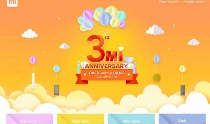 Xiaomi की तीसरी एनिवर्सिरी पर धमाकेदार सेल, सिर्फ 1 रुपए में खरीद पाएंगे स्मार्टफोन और ये सब- IndiaTV Paisa