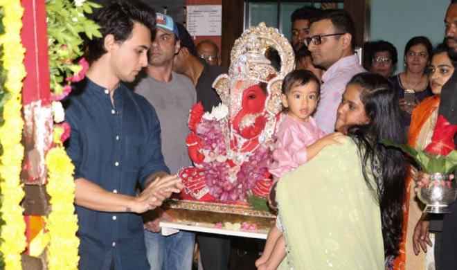 Ganpati Celebation- India TV