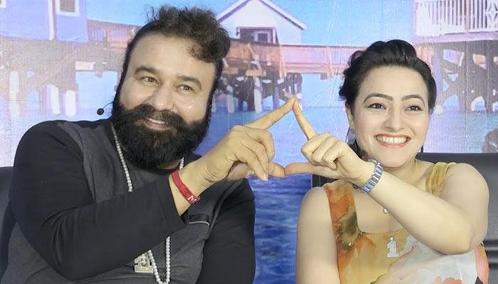 Ram Rahim Honeypreet- India TV